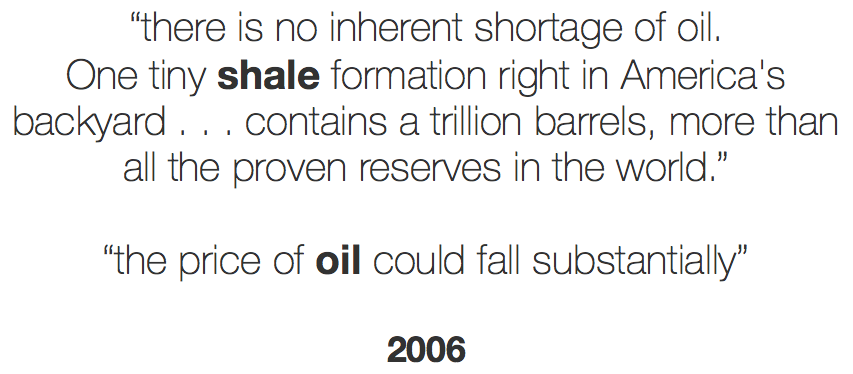 entropy economics global innovation technology research oil shale quotes 2006 b